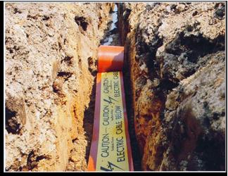 Pe Underground Utility Protection Tile Underground